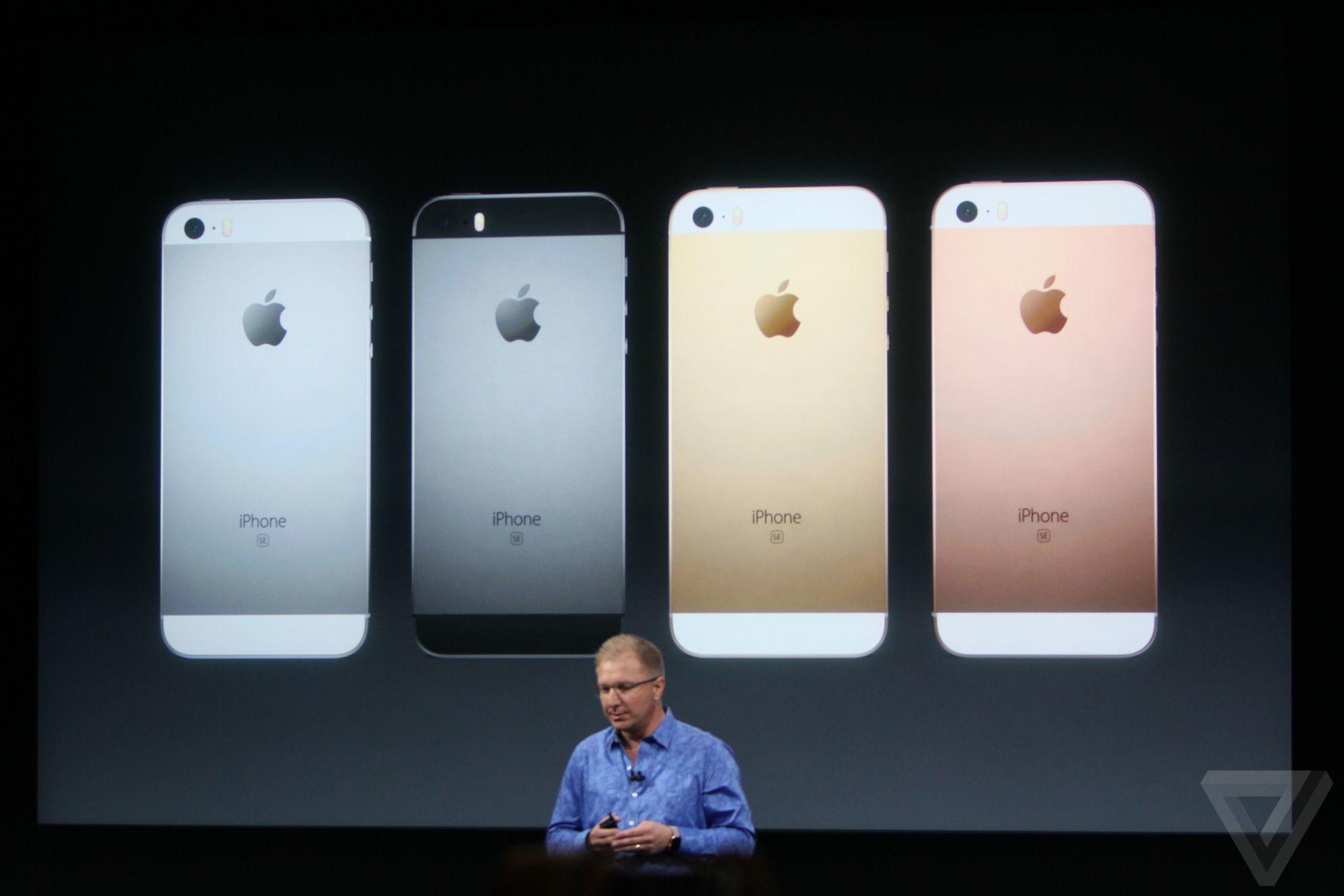 Apple vyrábí iPhone SE za nízkou cenu