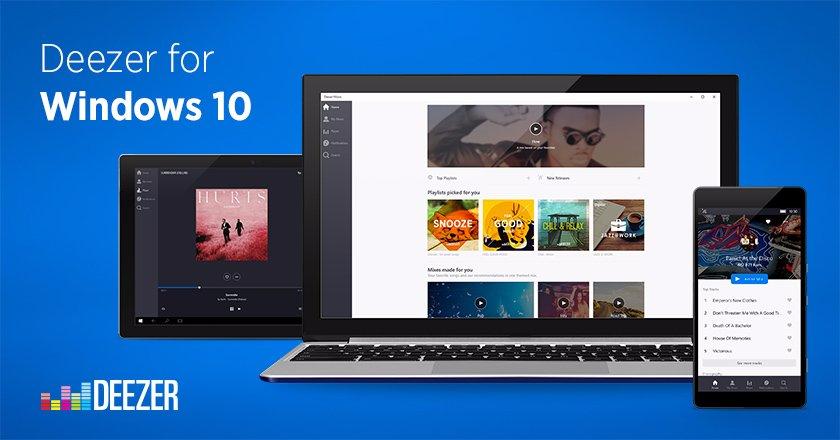 Vyzkoušejte Deezer v nové podobě pro Windows 10, zatím jen v beta verzi