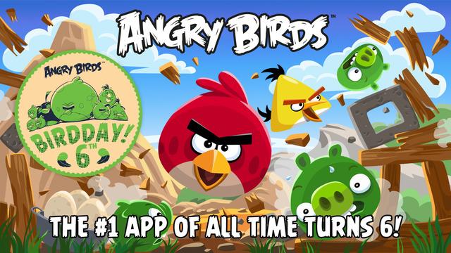 Tipy na aplikace pro Chromecast #7 – Angry Birds