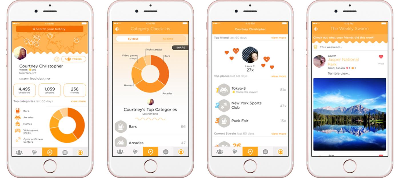 Swarm vylepšuje statistiky na mobilech