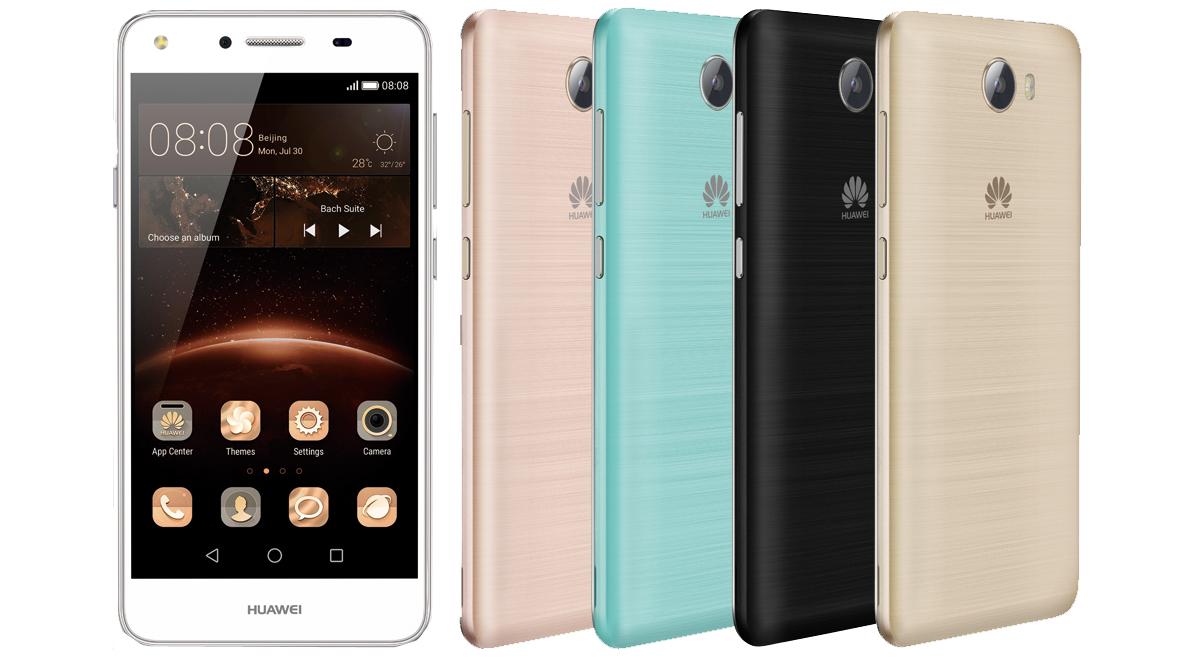 Huawei připravuje smartphone Y5 II