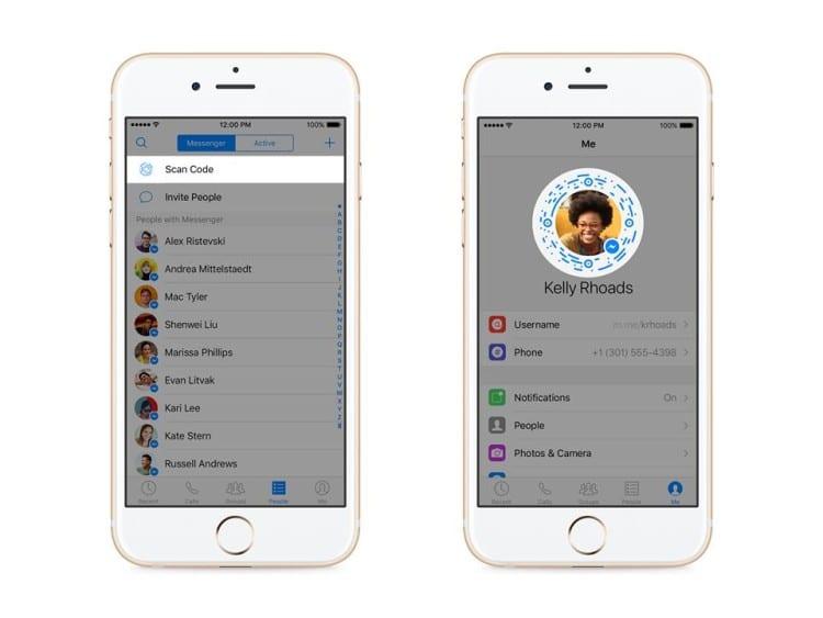 Facebook-Messenger-scan-code