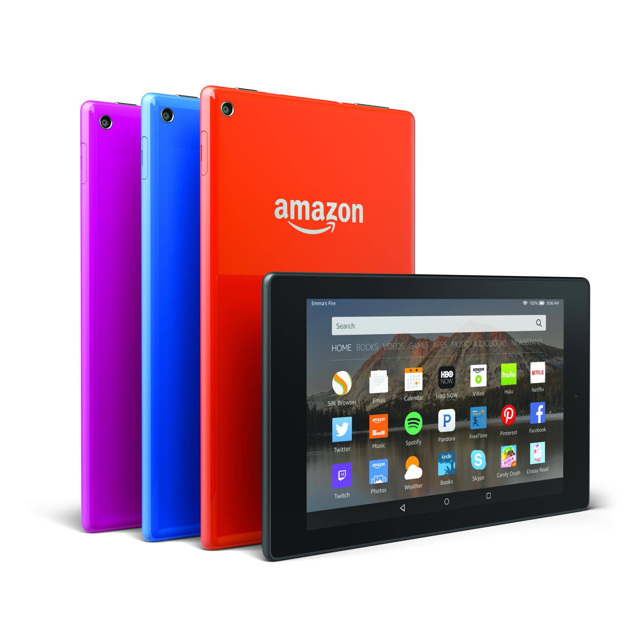 Amazon připravuje nový Fire HD 8 2016