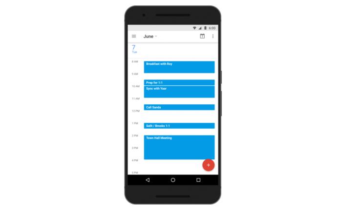 Google Kalendář 5.5 přináší naplánování času a kosmetickou změnu