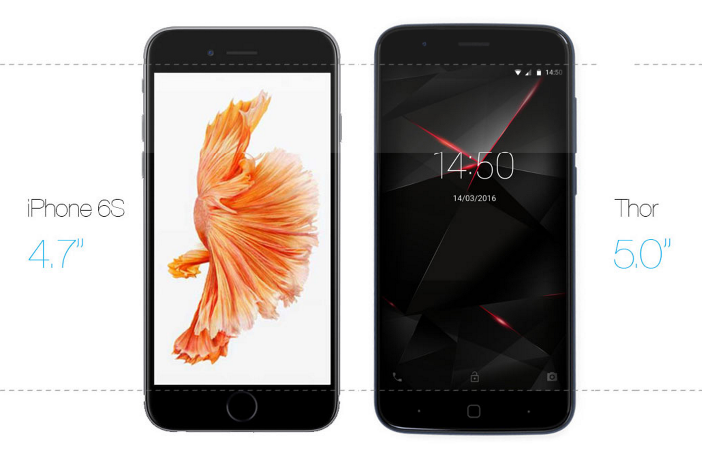 Vernee Thor – 3 GB RAM, Android 6.0, LTE a čtečka otisku prstů [sponzorovaný článek]