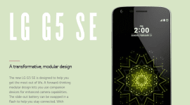 LG G5 SE – druhá generace nebo menší model?