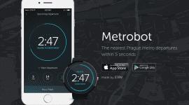 Metrobot – odjezdy metra na zápěstí