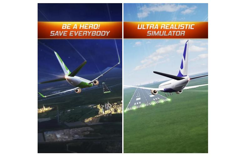 Flight Alert Simulator 3D – pokus o letecký simulátor na mobilu