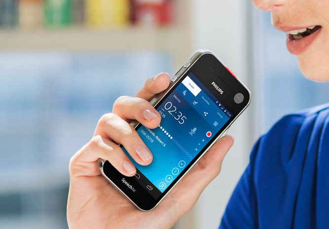 Philips SpeechAir – diktafon s Androidem
