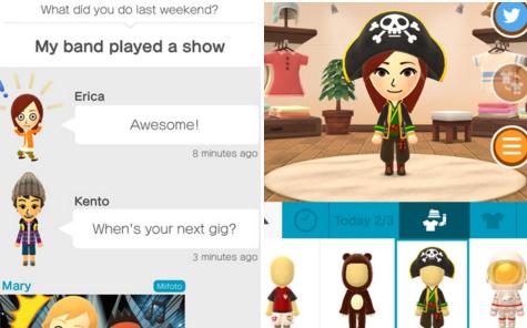 Miitomo – komunikátor od Nintenda pro iOS