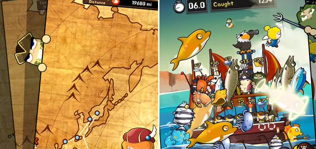 Fisherman Fisher – zábavné a originální rybaření pro iOS a Android