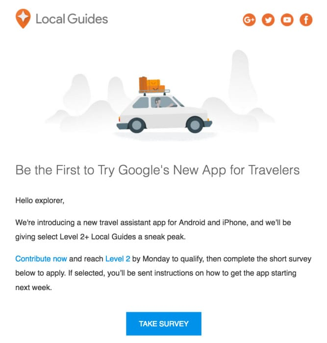 google-new-travel-app