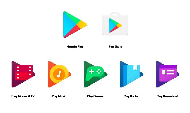 google play ikony