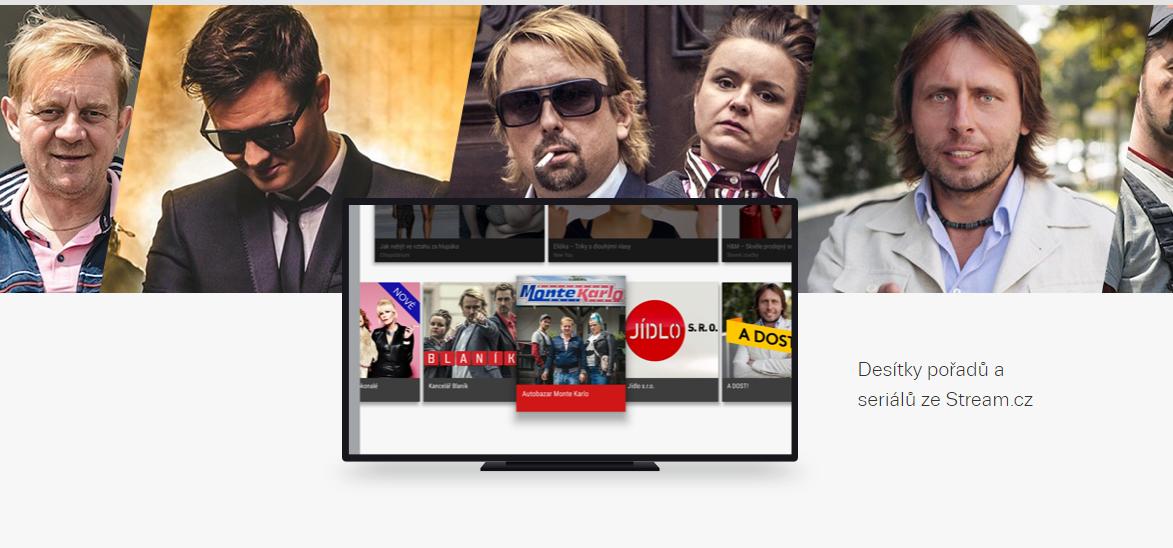 Aplikace Stream.cz přichází na chytré televize Apple TV a Android TV