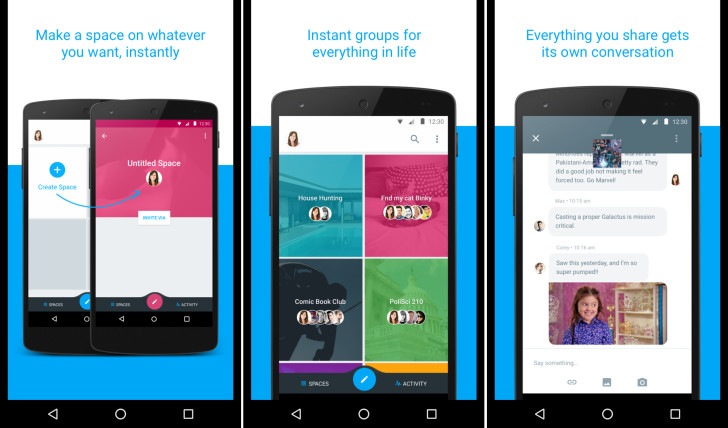 Google Spaces – projekt zaměřený na skupinový chat