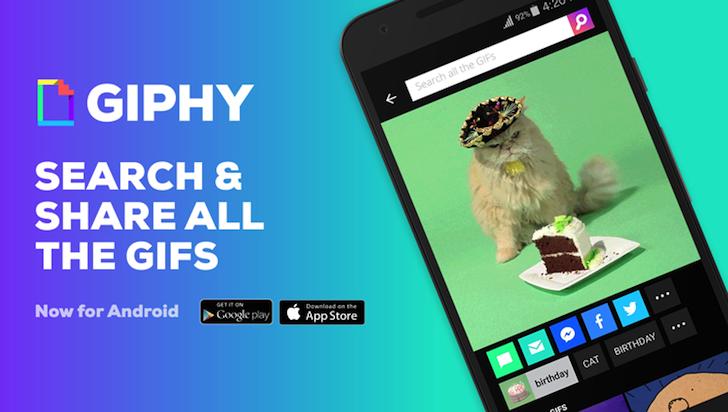 GIPHY vydalo plnohodnotnou aplikaci [aktualizováno]