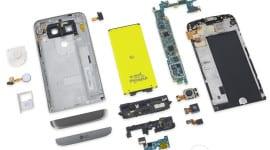 LG G5 lze jednoduše rozebrat a opravit