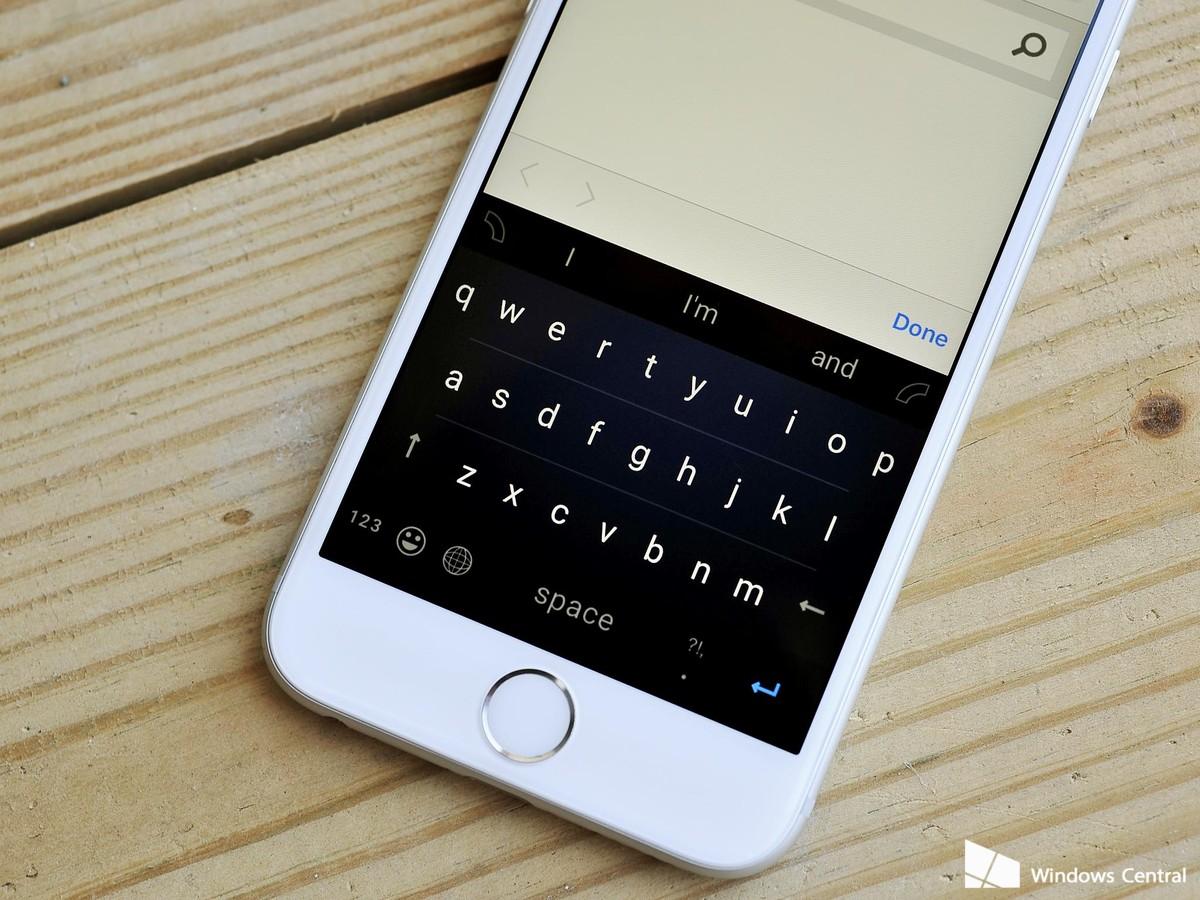 Klávesnice Word Flow od Microsoftu pro iOS oficiálně představena