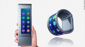 Moxi Group – prototyp ohebného telefonu