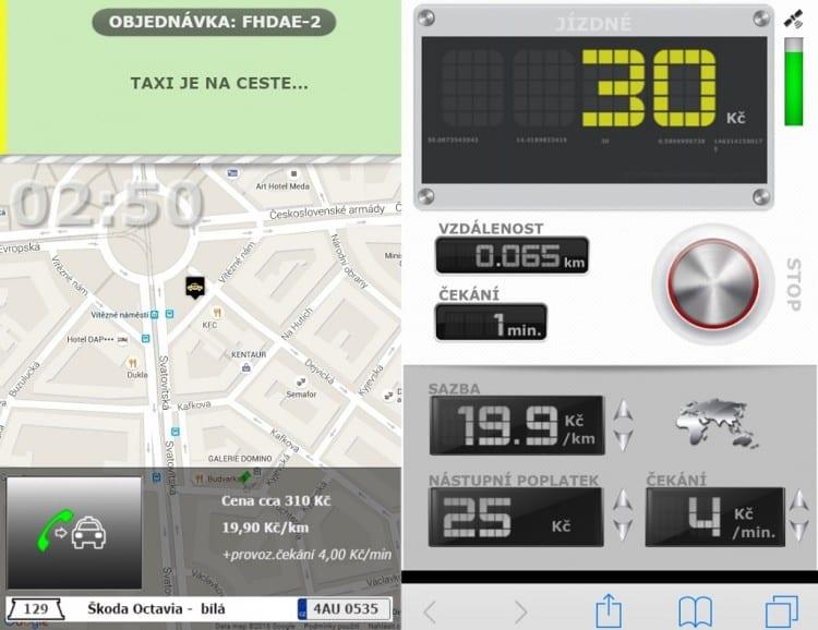 4-Prijezd-taxiku-v-mape-Virtualni-taxametr