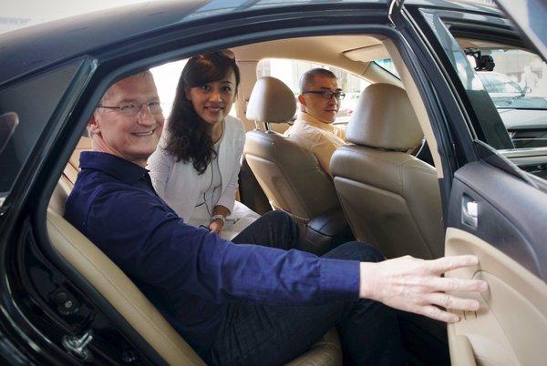 Apple investuje 1 miliardu dolarů do čínského Uberu
