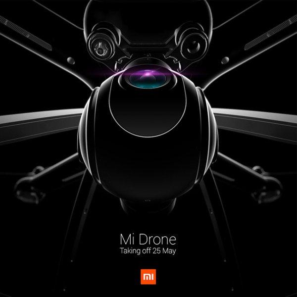 Xiaomi Mi Drone bude údajně představen již 25. května