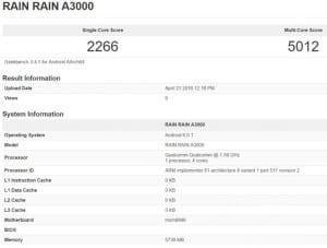 Rain A3000