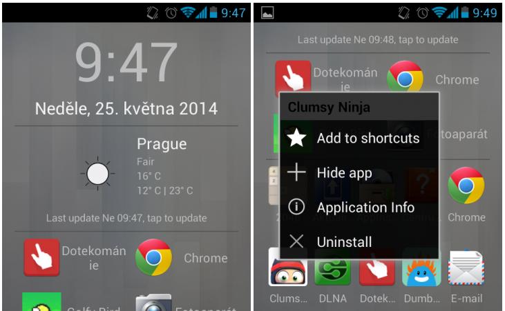 Scroll Launcher – všechny aplikace najednou [Android]