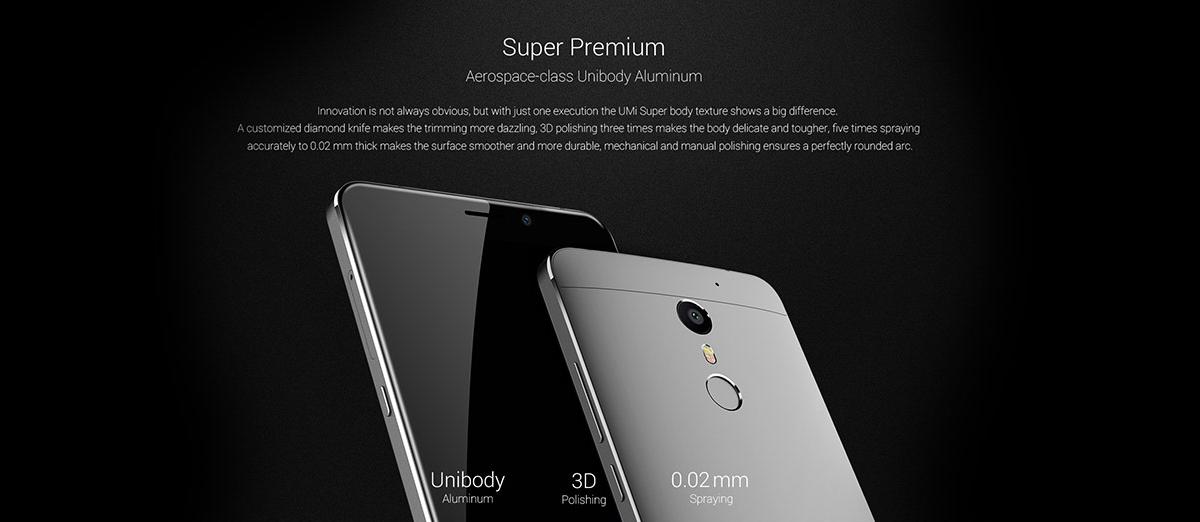 UMI Super – 4 GB RAM, 2GHz SoC, LTE a 4000mAh baterie [sponzorovaný článek]
