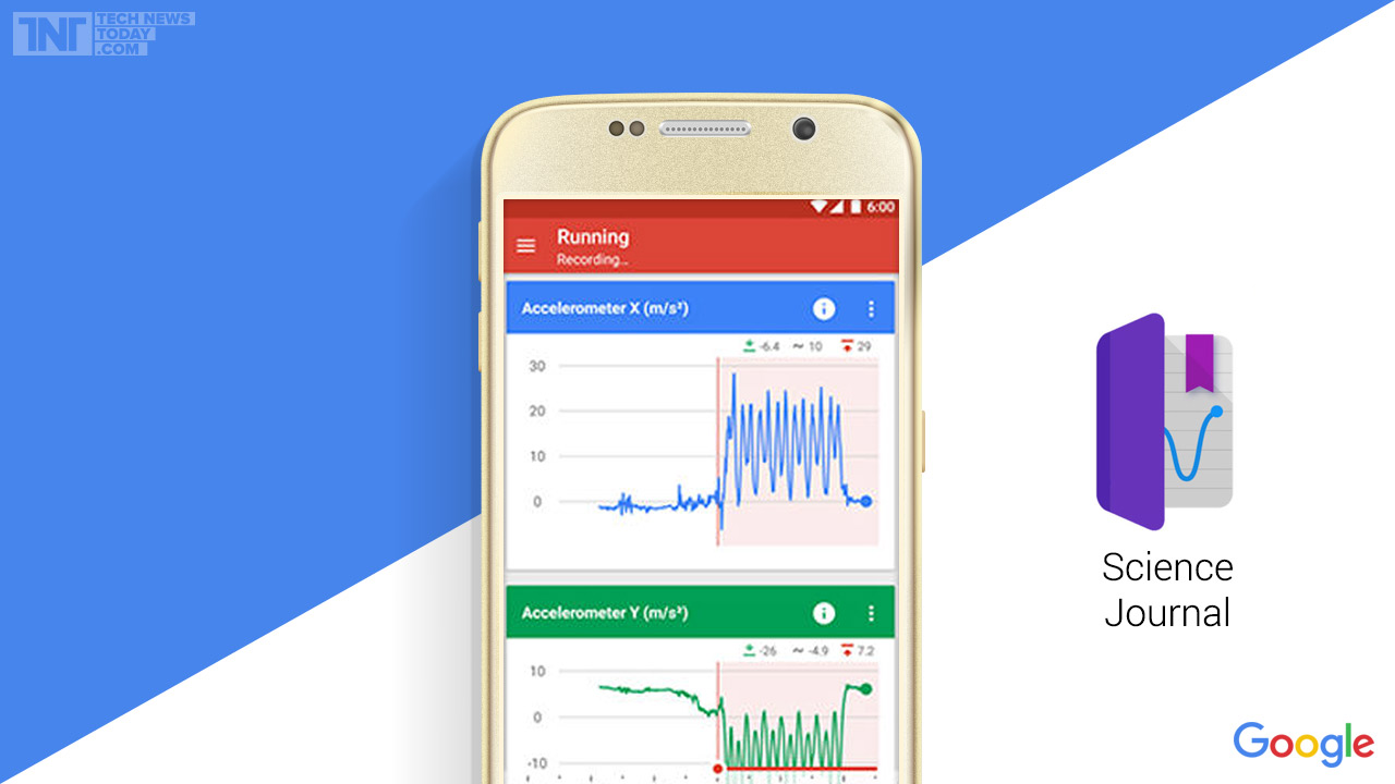 Vědecký žurnál – aplikace pro získávání vědeckých údajů z okolí pomocí smartphonu