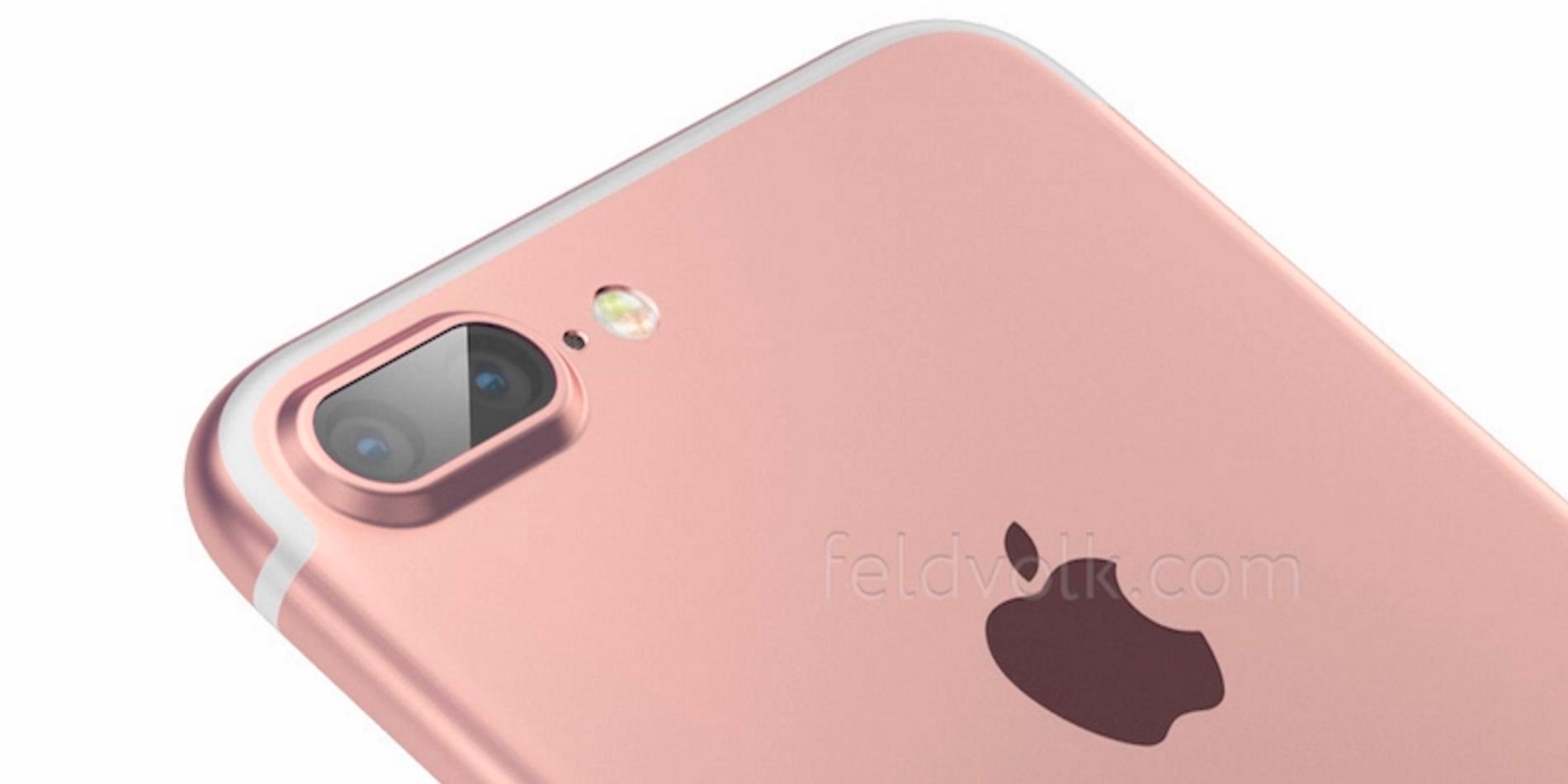 iPhone 7 Plus má nabídnout duální fotoaparát a 3 GB RAM