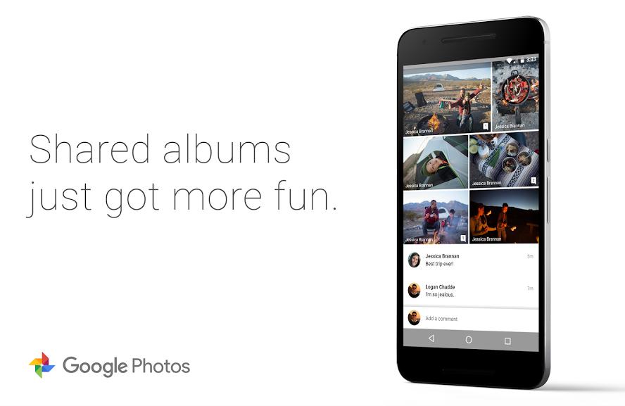 Google Fotky – sdílená alba získávají nové funkce