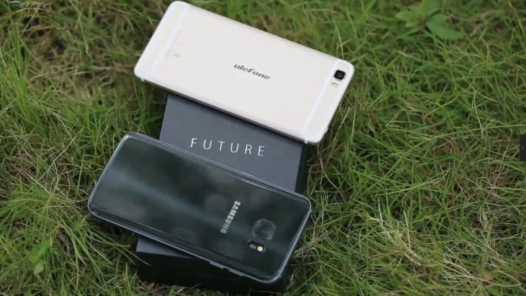 Ulefone Future vs. Samsung Galaxy S7 edge