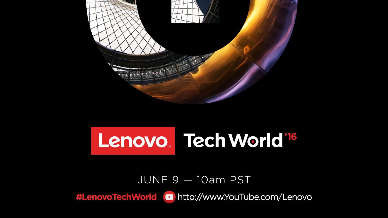 Sledujte živý přenos z Lenovo Tech World 2016