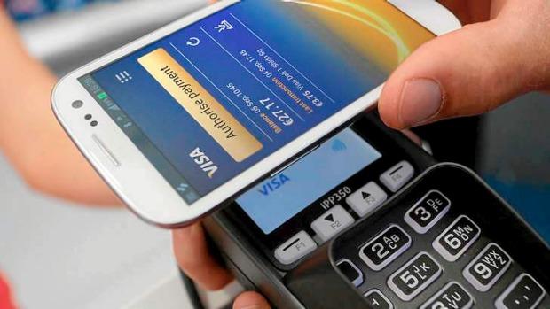 NFC platby mobilem