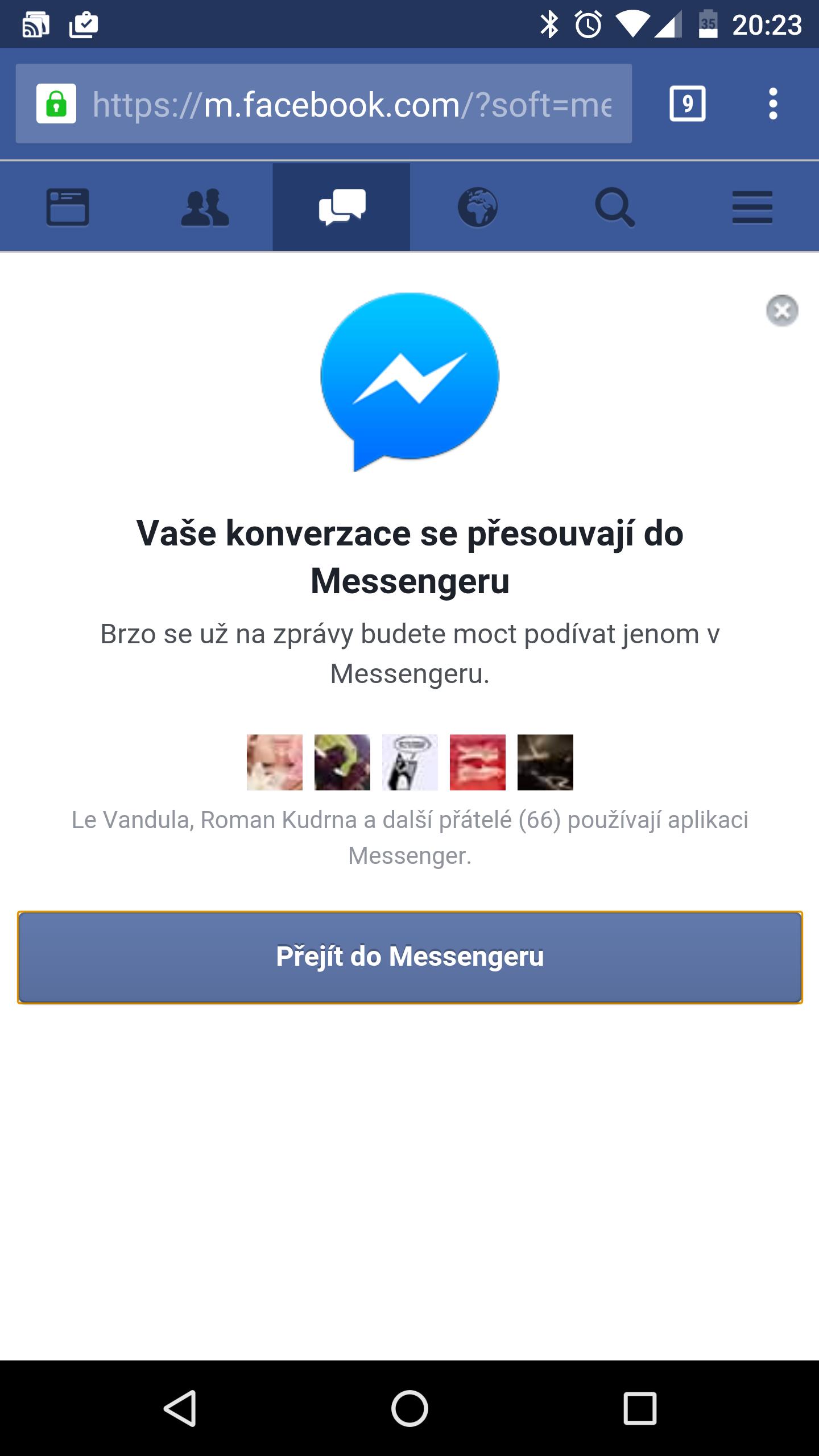 Novo!novo!novo! Facebok Chat Za Tvoj Mobilni (Procitati ...