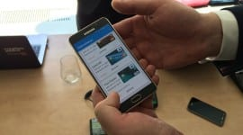 ČSOB představilo NFC platby přes jejich novou aplikaci NaNákupy