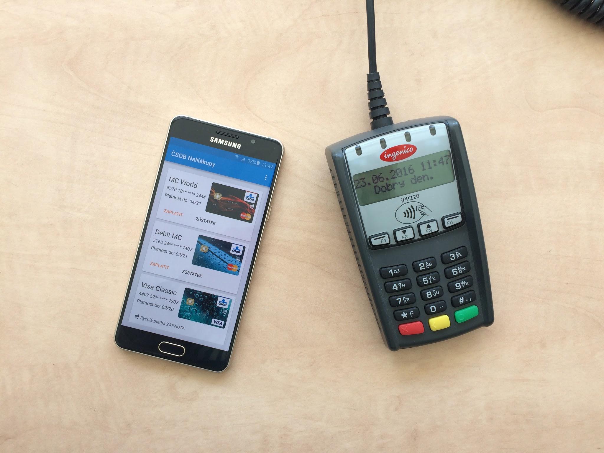 Video: ČSOB a NFC platby v praxi