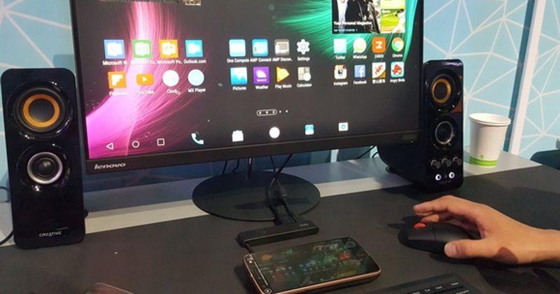 OneCompute udělá z Moto Z mini počítač