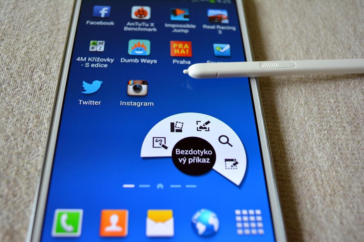 Galaxy Note 4 ve dvou verzích odhalen v AnTuTu