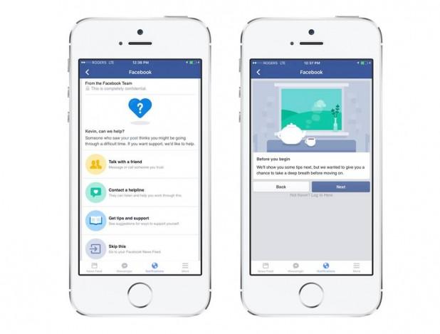 Facebook spustil funkci pro prevenci sebevražd