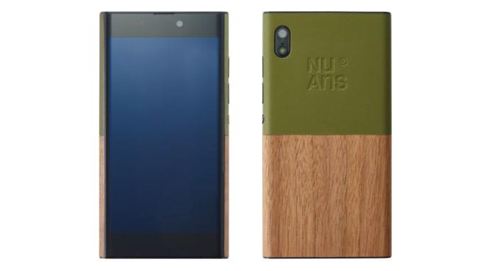 NuAns Neo láká na spojení plastu a dřeva