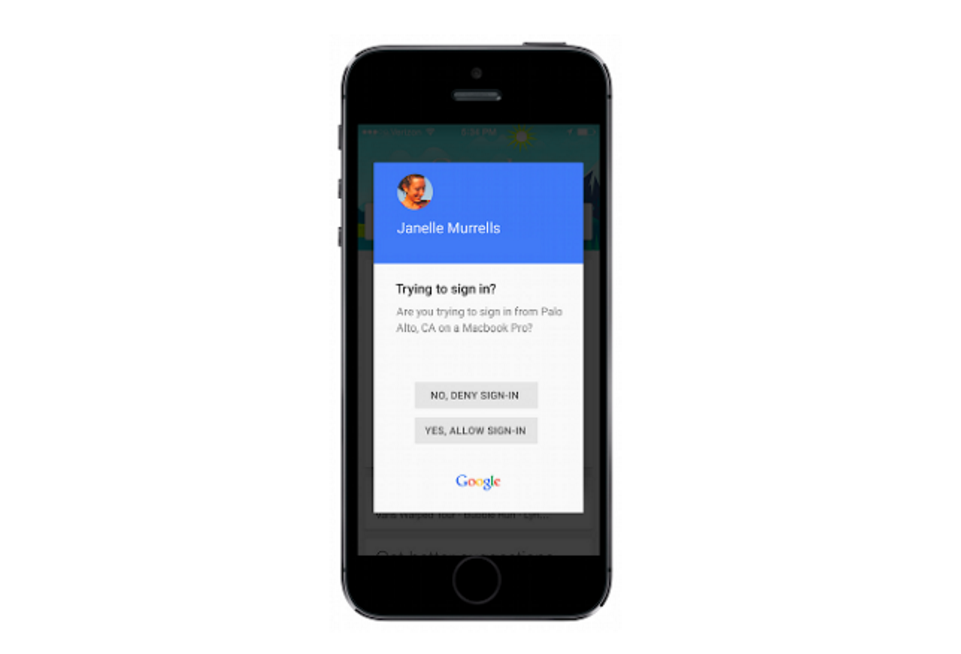 Dvoufázové ověření od Googlu získává novinku