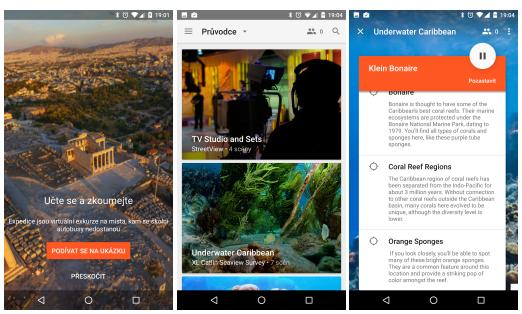 Google Expeditions – nová VR aplikace