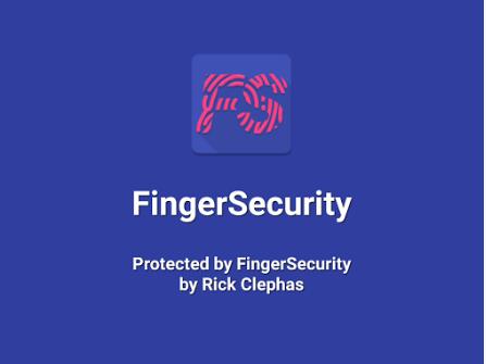 FingerSecurity – zabezpečení aplikací pomocí čtečky otisku prstu