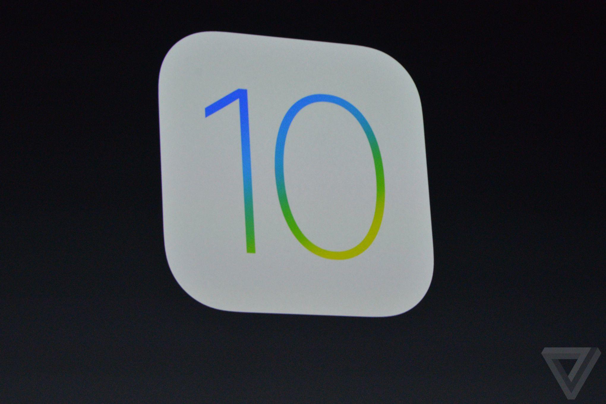 iOS 10 – upravený vzhled, nové efekty a další detaily