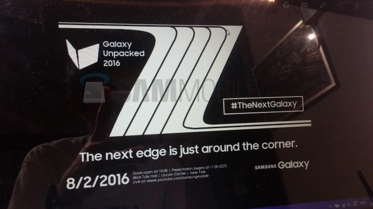 Představení Samsung Galaxy Note 7 se blíží