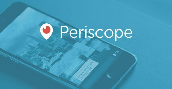 Periscope a denní výpadek, kterého si málokdo všiml