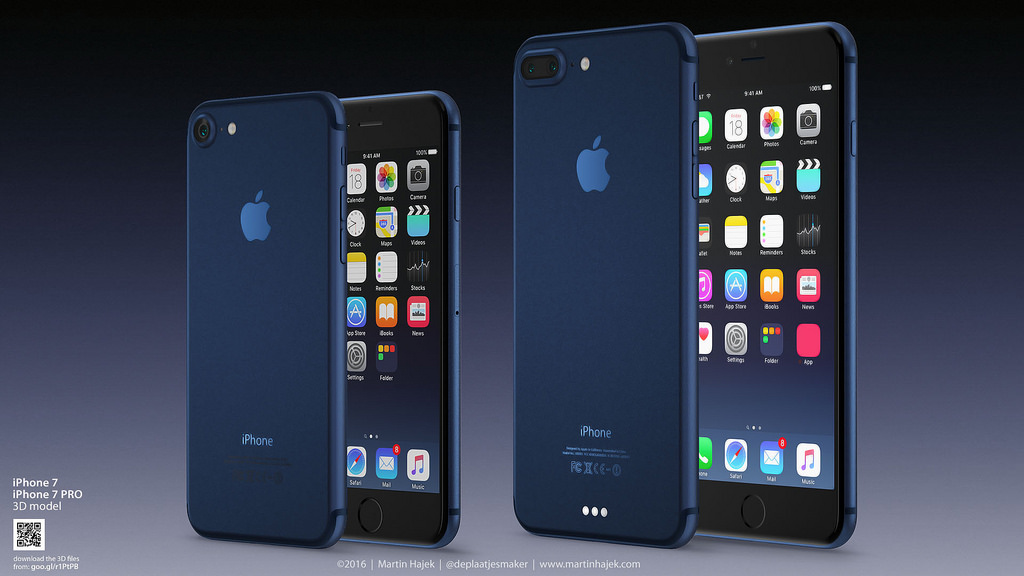 Nejnižší varianta úložiště iPhonu 7 má mít kapacitu 32 GB