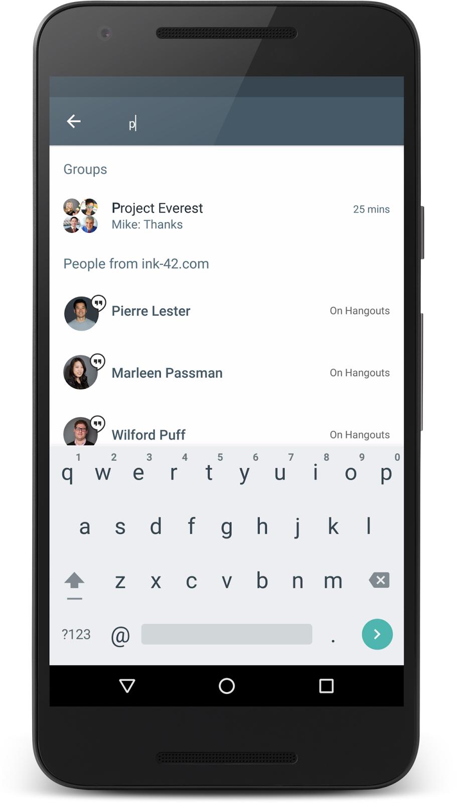 Připojte chatovací e-mail k iphone